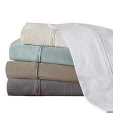 400 Thread Count Cotton Jacquard Sheet Set