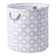 Star Damask Laundry Bin