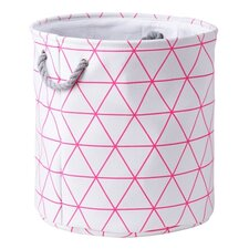Triangle Lines Laundry Bin