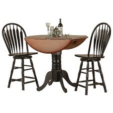 Sunset Selections 3 Piece Pub Table Set