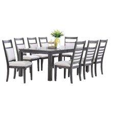 Shades of Gray 9 Piece Dining Set