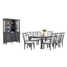 Shades of Gray 11 Piece Dining Set