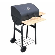 Charcol Barbecue with Side Shelf
