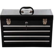 Portable Toolbox with 4 Drawers