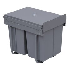 40-Litre Recycle Waste Bin with Pull Out