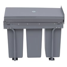 30-Litre Recycle Waste Bin with Pull Out