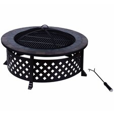 Outsunny Metal Fire Pit