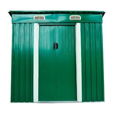 Outsunny 6 x 4 Metal Garden Shed