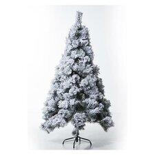 5.9' White Artificial Christmas Tree