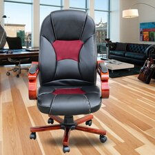 Luxury High-Back Leather Executive Chair