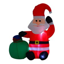 Christmas Santa Claus Inflatable Decoration