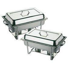 Twin Chafing Dish Set