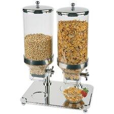 8L Cerealienspender Classic Duo mit 2 Behältern