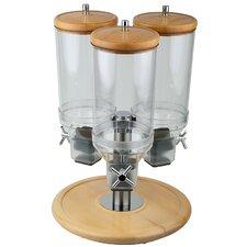 4,5L Cerialienspender Rotation mit 3 Behältern