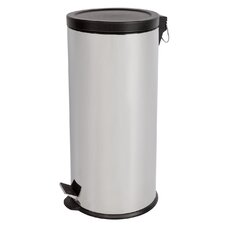 7.95-Gal. Round Step Lid Trash Can