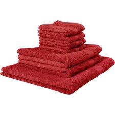 7-tlg. 7er Handtuch-Set Wellness