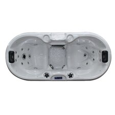 2-Person 22-Jet Bliss Spa with LED Light System