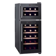 21 Bottle Dual Zone Freestanding Wine Refrigerator