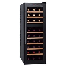 27 Bottle Dual Zone Freestanding Wine Refrigerator