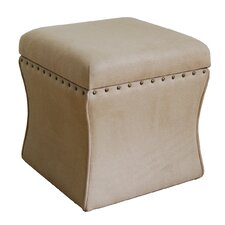 Cinch Upholstered Storage Cube Ottoman