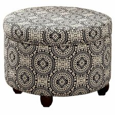 Fashion Medallion Suzani Storage Ottoman