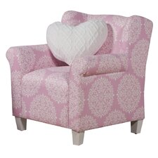 Pink Juvenile Kids Club Chair
