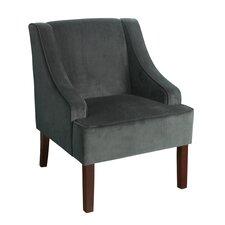 Velvet Swoop Armchair
