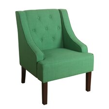 Kate Tufted Swoop Armchair