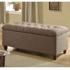 Candace Tufted Storage Bench