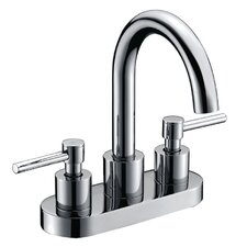 Centerset Three Hole Bathroom Faucet
