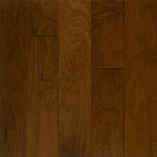 "Rustic Accents 5"" Engineered Walnut Hardwood Flooring in Pueblo Brown"