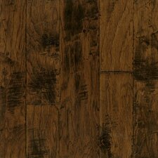 Artesian Random Width Engineered Hickory Hardwood Flooring in Harvest