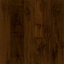 Artesian Random Width Engineered Walnut Hardwood Flooring in Black Chocolate