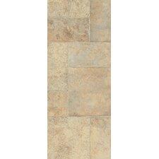 """Stones and Ceramics 15.94"""" x 47.75"""" x 8.3mm Tile Laminate in Weathered Way Antique Cream"""