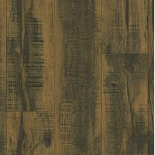 """Architectural Remnants 8"""" x 48"""" x 12mm Oak Laminate in Blackened Brown"""