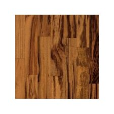 "Valenza 3-1/2"" Solid Tigerwood Hardwood Flooring in Natural"