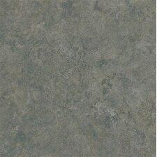 "Alterna Multistone 16"" x 16"" Luxury Vinyl Tile in Slate Blue"