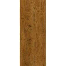 "Luxe Jefferson Oak 6"" x 36"" x 2.79mm Luxury Vinyl Plank in Gunstock"