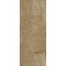 "Luxe Timber Bay Hickory 6"" x 48"" x 4.06mm Luxury Vinyl Plank in Barnyard Gray (Set of 12)"