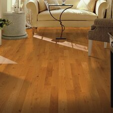 "Yorkshire 3-1/4"" Solid White Oak Hardwood Flooring in Cherry Spice"