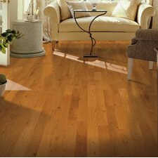 "Yorkshire 3-1/4"" Solid White Oak Hardwood Flooring in Sahara"