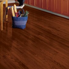 "Yorkshire 2-1/4"" Solid White Oak Hardwood Flooring in Cherry Spice"
