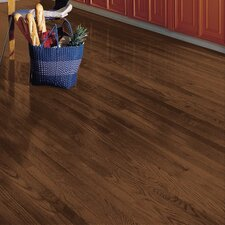 "Yorkshire 2-1/4"" Solid White Oak Hardwood Flooring in Umber"