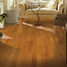 "Yorkshire 3-1/4"" Solid White Oak Hardwood Flooring in Canyon"