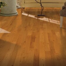 "Yorkshire 3-1/4"" Solid Red Oak Hardwood Flooring in Pioneer Natural"