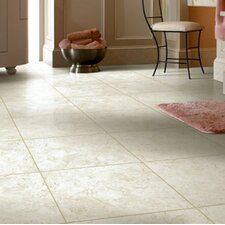 "Alterna La Plata 16"" x 16"" Luxury Vinyl Tile in Crème Fresh"