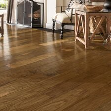"American 5-3/4"" Engineered Walnut Hardwood Flooring in Natural"