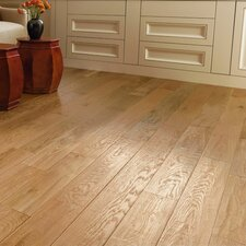 "American 5"" Solid Oak Hardwood Flooring in Natural"
