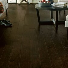 "Rural Living 5"" Engineered Hickory Hardwood Flooring in Extra Dark"