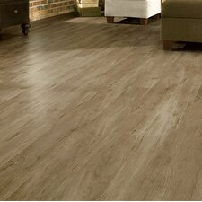 "Luxe Timber Bay Hickory 6"" x 48"" x 4.06mm Luxury Vinyl Plank in Barnyard Gray"
